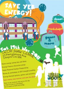 Poster for Energy Saving Event
